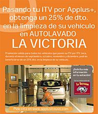 Ahorra con Auto La Victoria y la ITV de Jaca